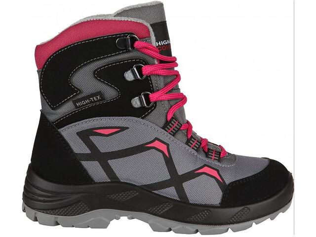 High Colorado Snowfox Talvikengät Lapset, grey-pink